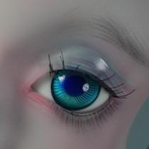18mm - Magic turquoise albinos